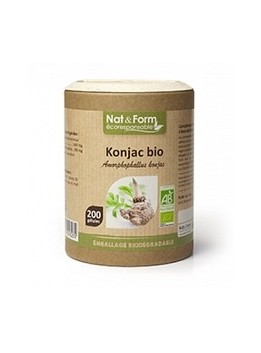 Konjac Bio Eco Responsable -  Nat & Form
